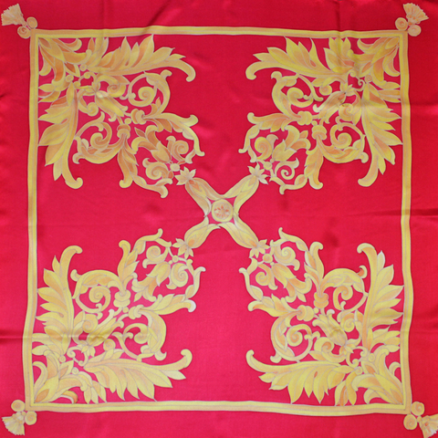 Шелковый платок батик Королевский С-61