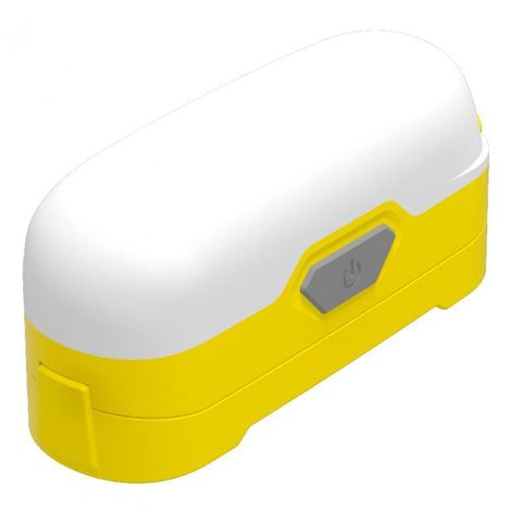 Фонарь походный Nitecore LR30 желтый лам.:светодиод. 18650/CR123x2 (15684)