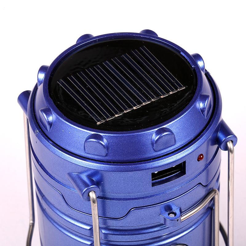 Солнечная батарея позволит зарядить фонарь днем