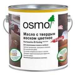 Цветное масло с твердым воском
