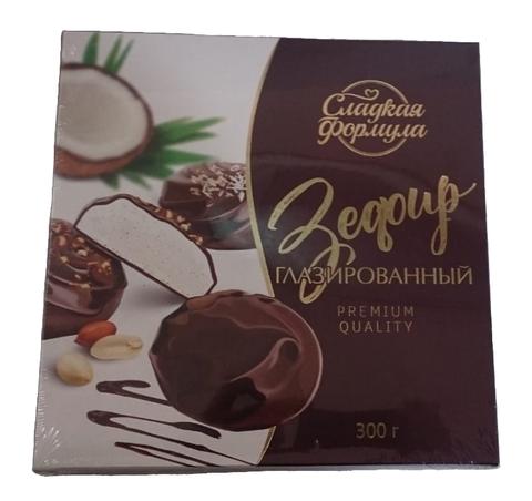 Набор зефира в шоколаде 300 г. Красный Мозырянин
