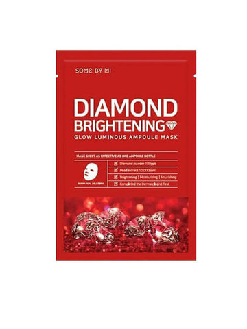 Some By Mi Маска тканевая ампульная Diamond Brightening Calming Glow Luminous Ampoule Mask 25 гр