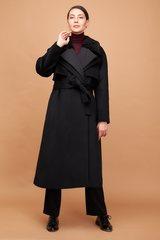 Пальто многослойное прямого силуэта