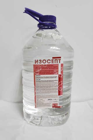 Антисептик для рук Изосепт 5 литров