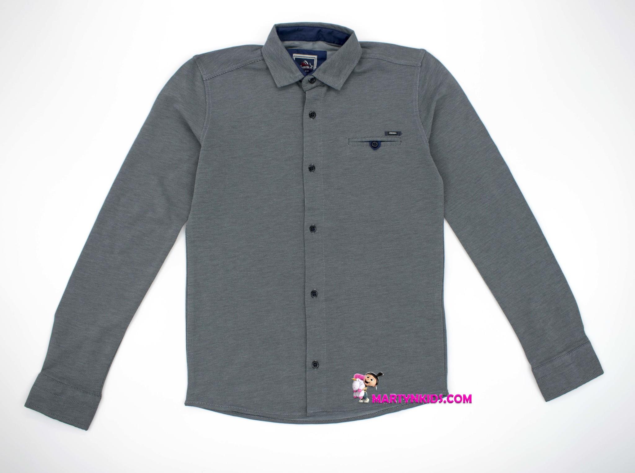 2574 рубашка-кофта школа
