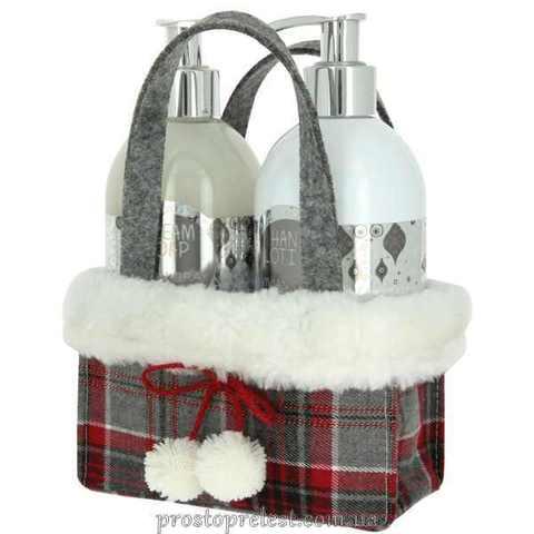 Vivian Gray Silver Christmas Set – Набір для рук (крем-мило, лосьйон)