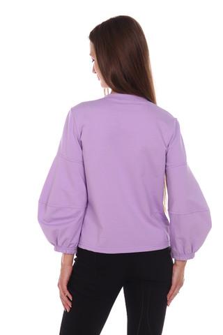 Пуловер трикотажный с укороченным рукавом