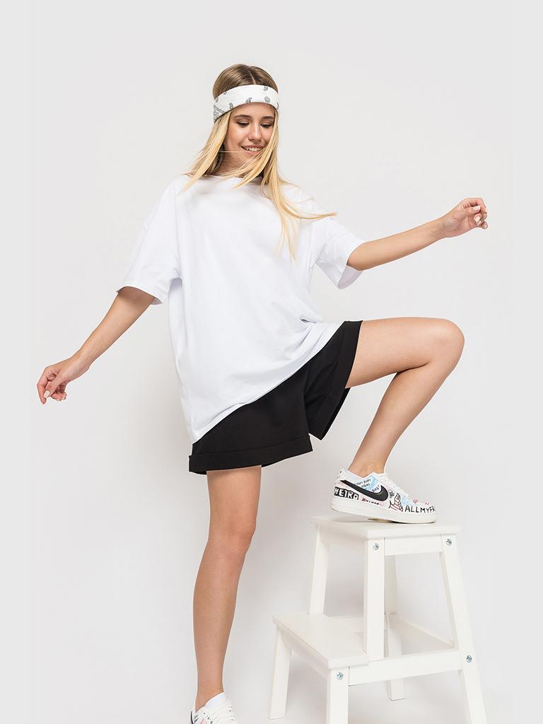 Футболка белая YOS от украинского бренда Your Own Style