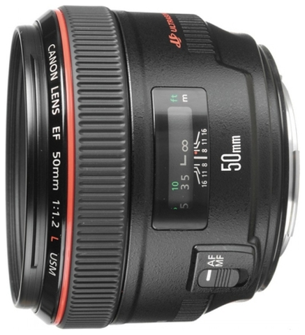 Canon EF 50mm f/1.2L USM (JAPAN)