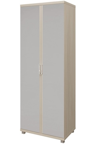 Шкаф двухстворчатый Ирис с зеркалами Арника дуб бодега, бежевы