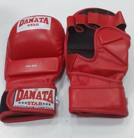 Перчатки универсальный бой 816 размер L цвет красный (Дан) (36690)
