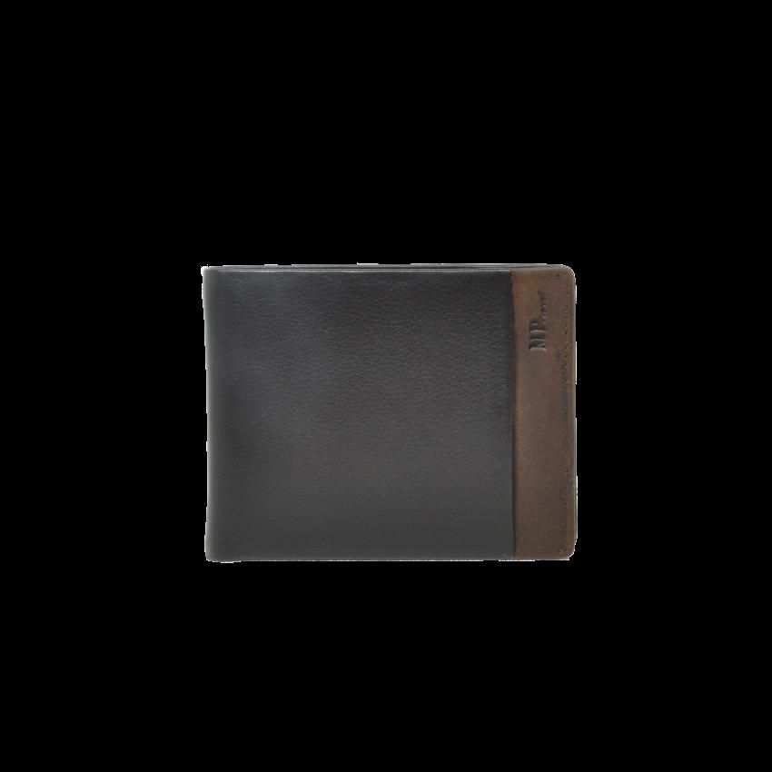 B123166R Castanho - Портмоне с RFID защитой MP