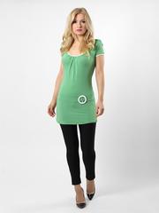 3387-1 фут-ка жен. зеленая