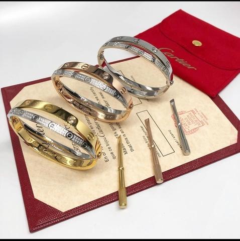 Двойной браслет Cartier