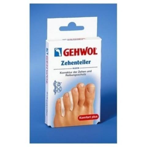 Gehwol (Геволь) - Супинаторы Гель-полимер: Вкладыш между пальцев №3 (Zehenteiler klein), 8мм, 15шт