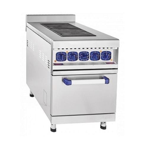 Плита электрическая ABAT двухконфорочная без жарочного шкафа ЭП-2ЖШ