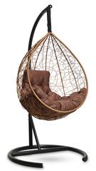 Подвесное кресло-кокон SEVILLA COMFORT (горячий шоколад)