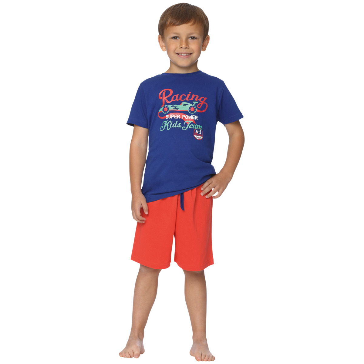 Комплект для мальчика Action футболка + шорты
