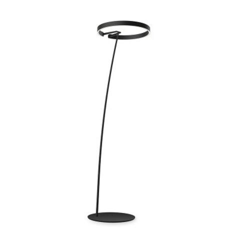 Напольный светильник копия Mito by Occio (черный, H185)
