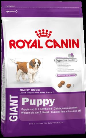 Royal Canin Giant Puppy 17 кг (бридерская упаковка)