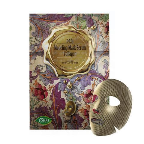 no:hj Collagen Modeling Mask Serum Фольгированная маска с коллагеном