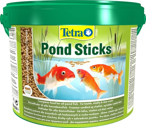 Корм Tetra Pond Sticks 10л (ведро)