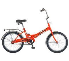 Складной велосипед Novatrack FS-30 оранжевый