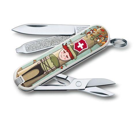 Складной нож-брелок Victorinox Classic LE 2016 Wilhelm Tell (0.6223.L1609)