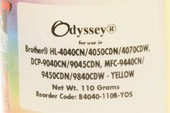 Тонер желтый (yellow) для Brother HL-4040, HL-4050, HL-4070, MFC-9440CN - 110 грамм. Static Control (4,000 pages)