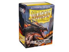 Dragon Shield - Протекторы черные матовые не бликующие 100 штук