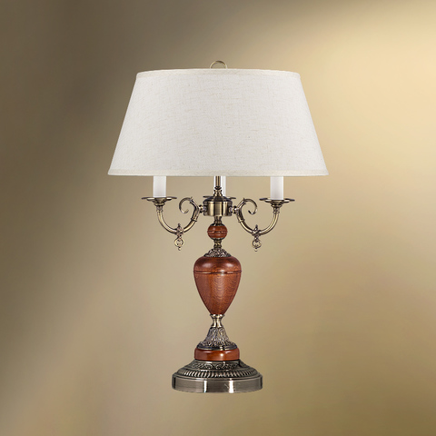 Настольная лампа с абажуром 44-104/3021 ТАМЕЛАН