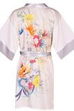 Кимоно с цветочным рисунком Le Chat