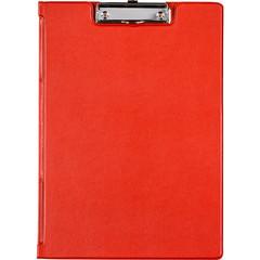 Папка-планшет Bantex A4 картонная красная с крышкой