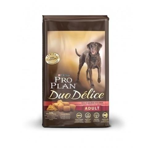 Pro Plan Duo Delice сухой корм для взрослых собак с лососем и рисом