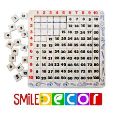 Таблица Пифагора Smile Decor П235