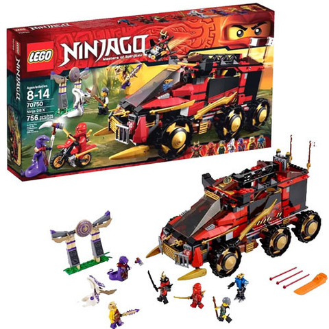 LEGO Ninjago: Мобильная база Ниндзя 70750 — LegoNinja DB X — Лего Ниндзяго
