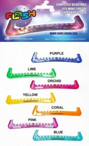 Чехлы на лезвия светодиодные (голубые)