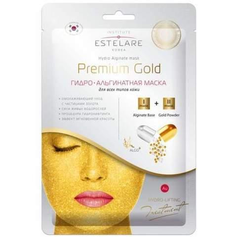 ESTELARE Premium Gold Гидроальгинатная маска для всех типов кожи 55г