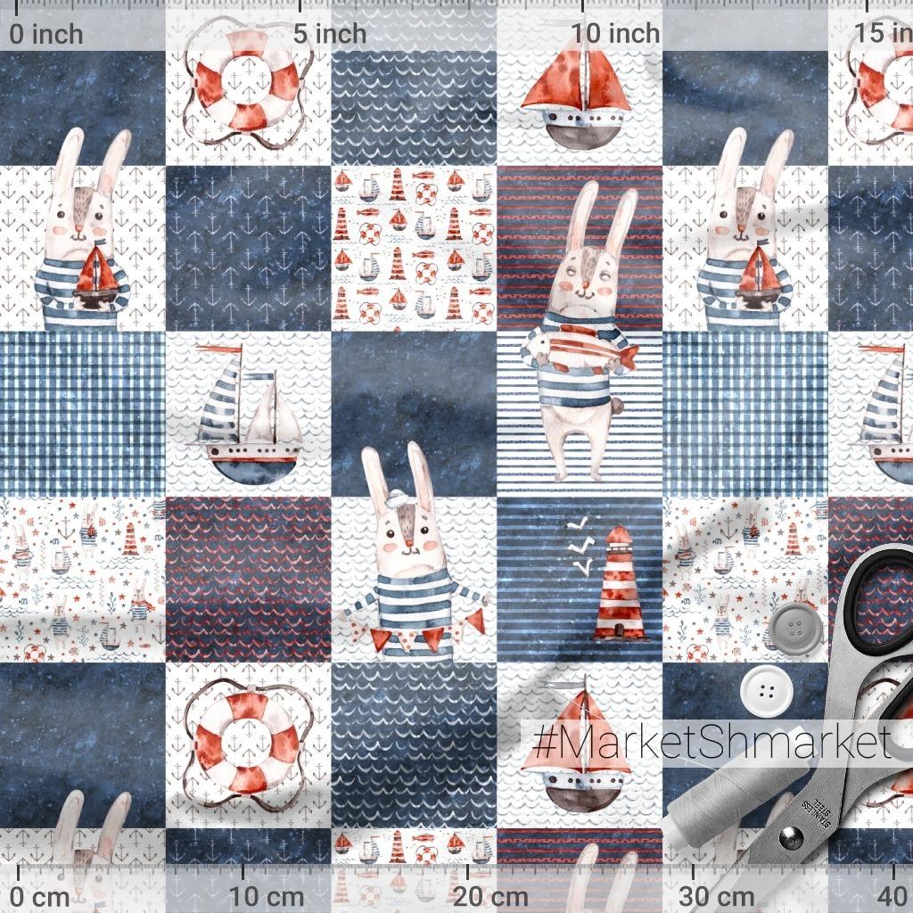 Зайцы моряки @ulitkastudio.art