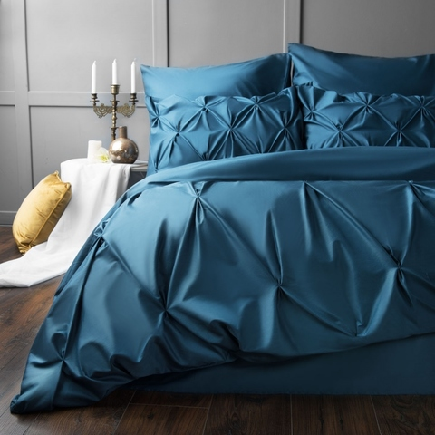 Комплект постельного белья сатин Монселла синий