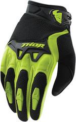 Мотоперчатки - THOR SPECTRUM (зеленые)