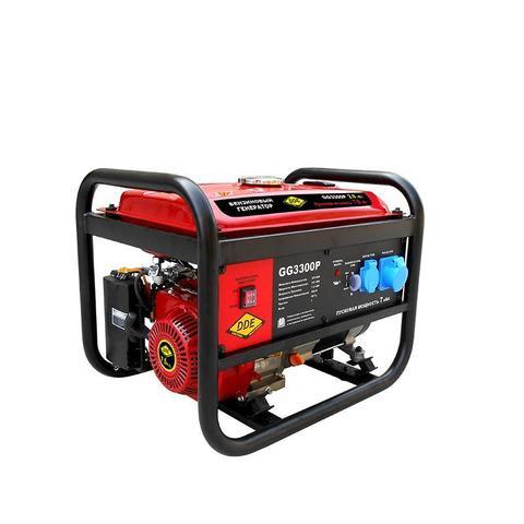 Генератор бензиновый DDE GG3300P (1ф ном/макс./пиков.  2,8/3.5/7,0 кВт, SC170, т/бак 15л,  (GG3300P), шт