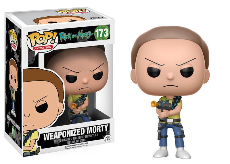 Фигурка Funko POP! Vinyl: Rick & Morty: Weaponized Morty 12440