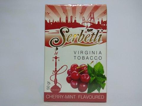 Табак для кальяна SERBETLI Cherry Mint 50gr