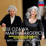 Seiji Ozawa, Martha Argerich, Mito Chamber Orchestra / Beethoven: Piano Concerto 2 - Grieg: Holberg Suite (CD)