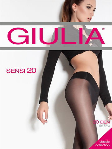 Колготки Sensi 20 Vita Bassa Giulia