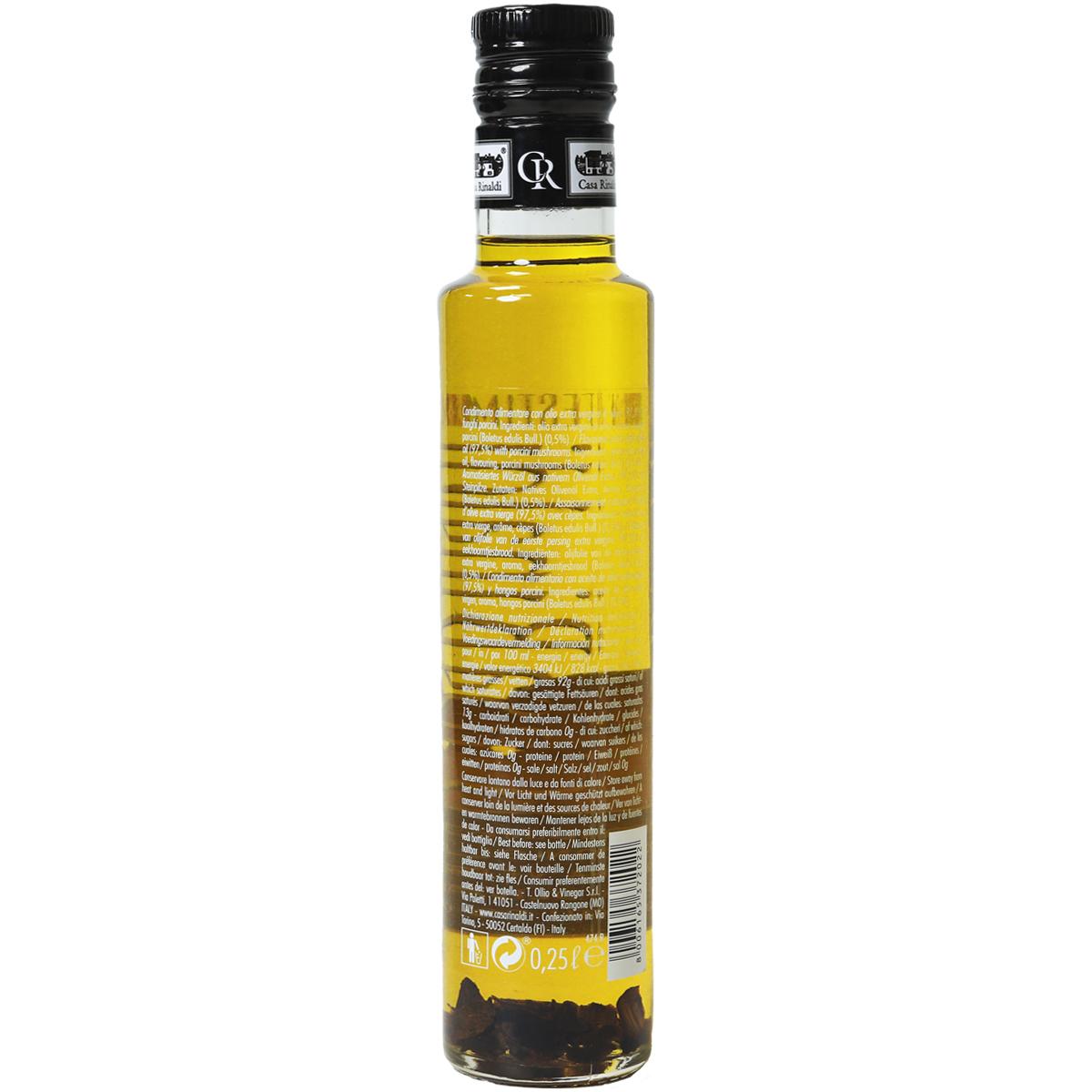 Масло Casa Rinaldi оливковое Extra Vergine с белыми грибами 250 мл