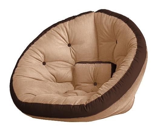Универсальные кресла Кресло Farla Lounge Бежевое с тёмно-коричневым tbeg_tbro_tbro.jpg