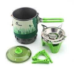 Система приготовления пищи Fire-Maple STAR X3 зеленая