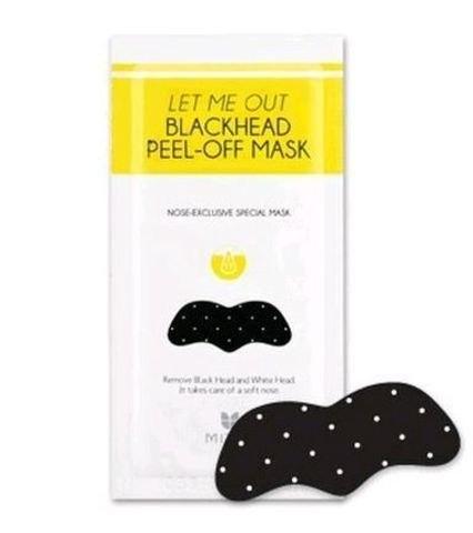 Mizon Let Me Out Blackhead Peel Off Mask патч для быстрого избавления от черных точек